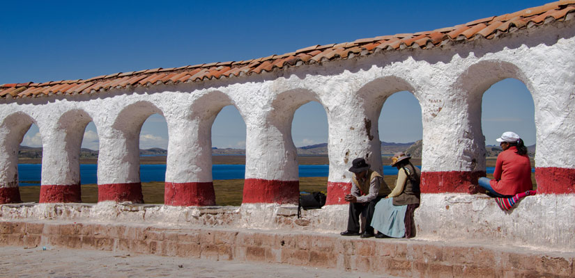 arch construction in puno