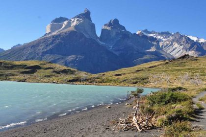 Mountain in Torres del Paine Chile