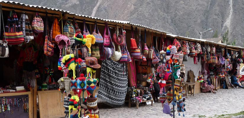 traditional peruvian market a must to do in ollantaytambo