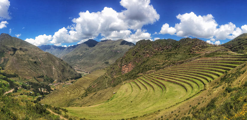 andens on the mountain to do in ollantaytambo