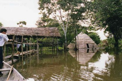 views of a lodge in Iquitos