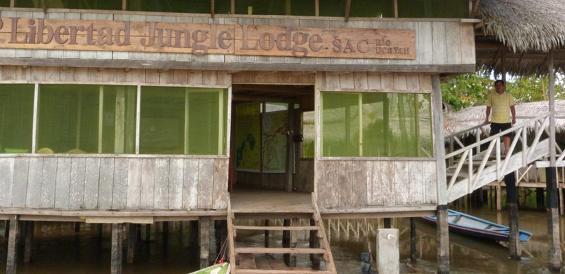lodge in iquitos jungle