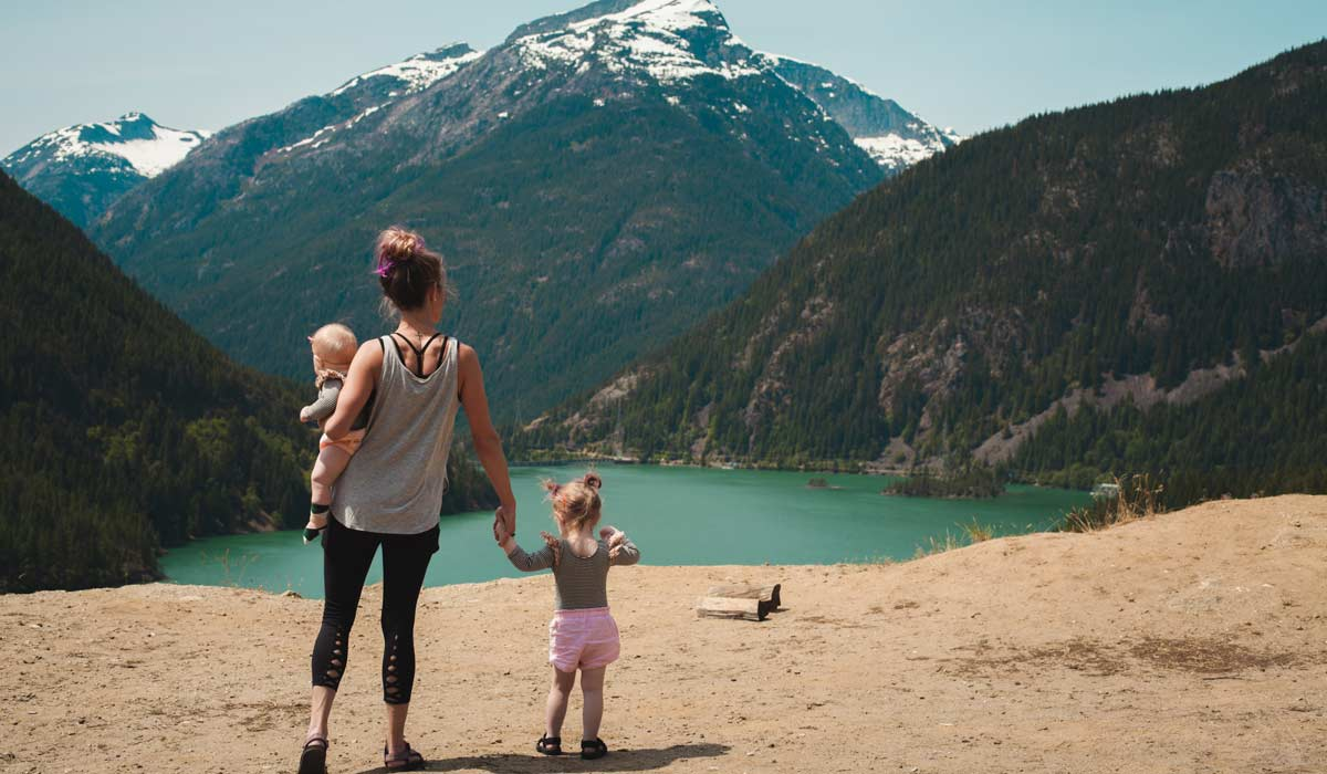 travel with kids in south america