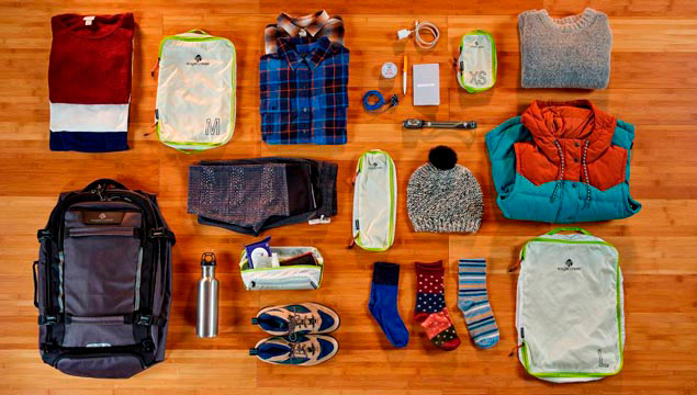 clothes to include in your backpack