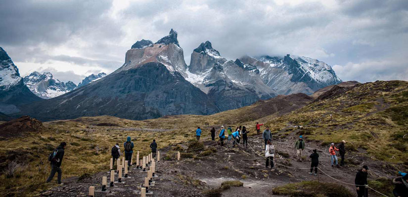 group difficulty torres del paine