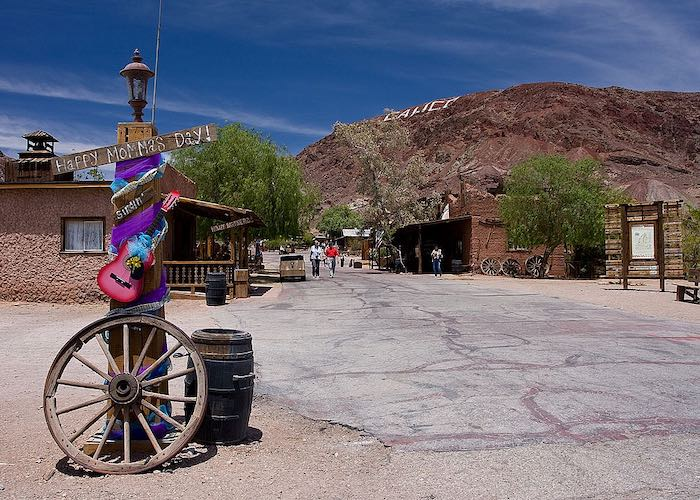 Entrance to Calico ghost town California