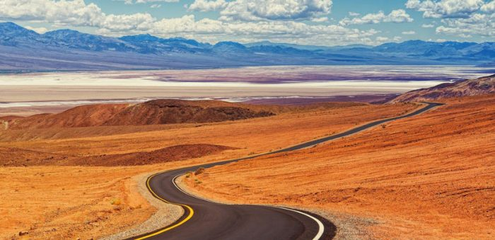 desert road united states