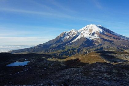 chimborazo volcano height record