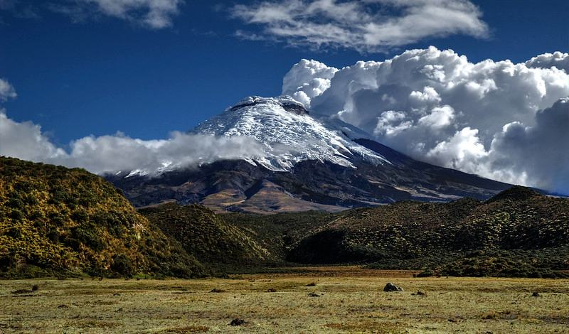 top of the Cotopaxi volcano