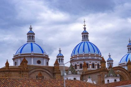 Colonial architecture Cuenca
