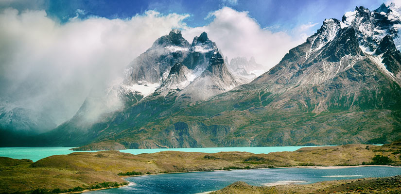lake nordenskjold is a place to see in torres del paine