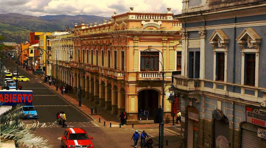 streets of Riobamba