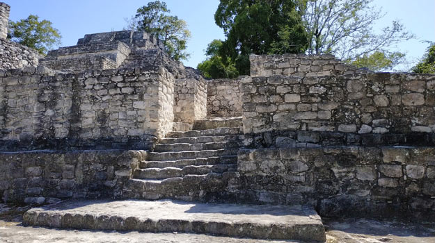 one of the best mayan ruins of Calakmul