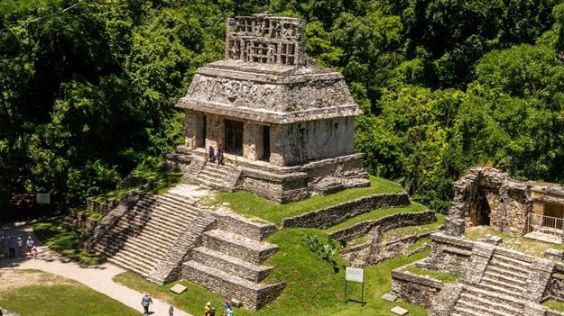 temple on Palenque