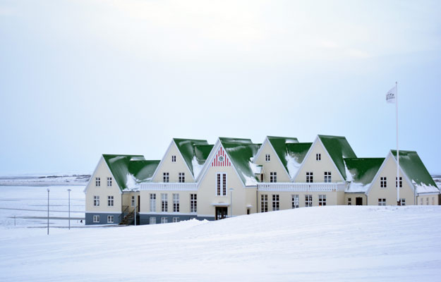 Group family houses in Iceland