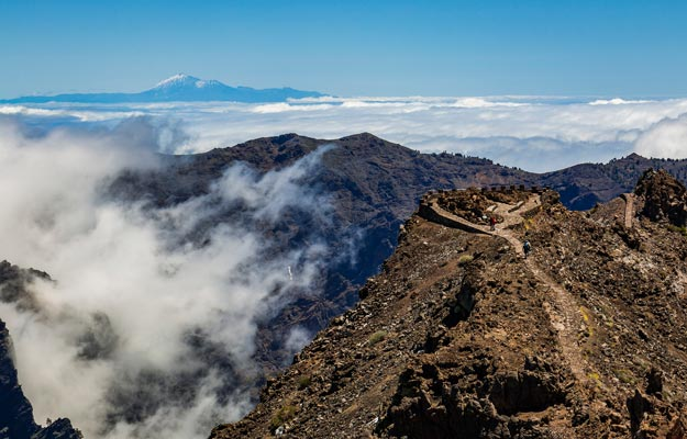 El Teide from above